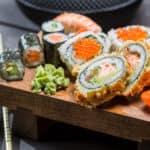 sushi block platter