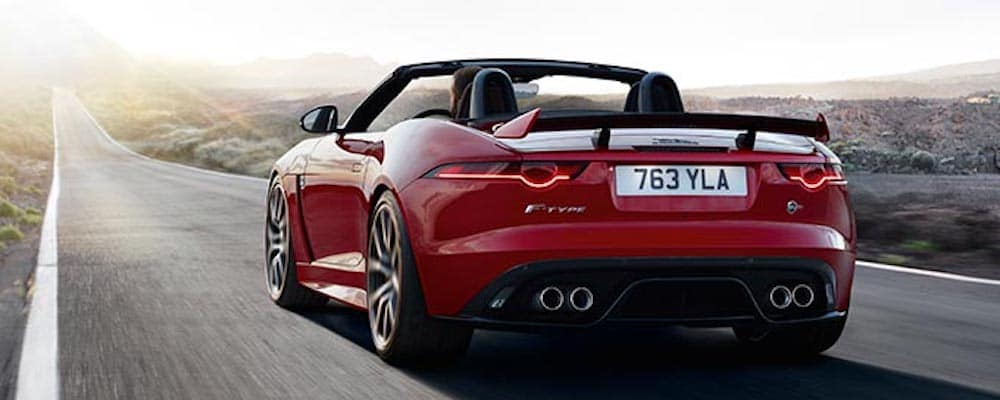 2019 jaguar f-type back