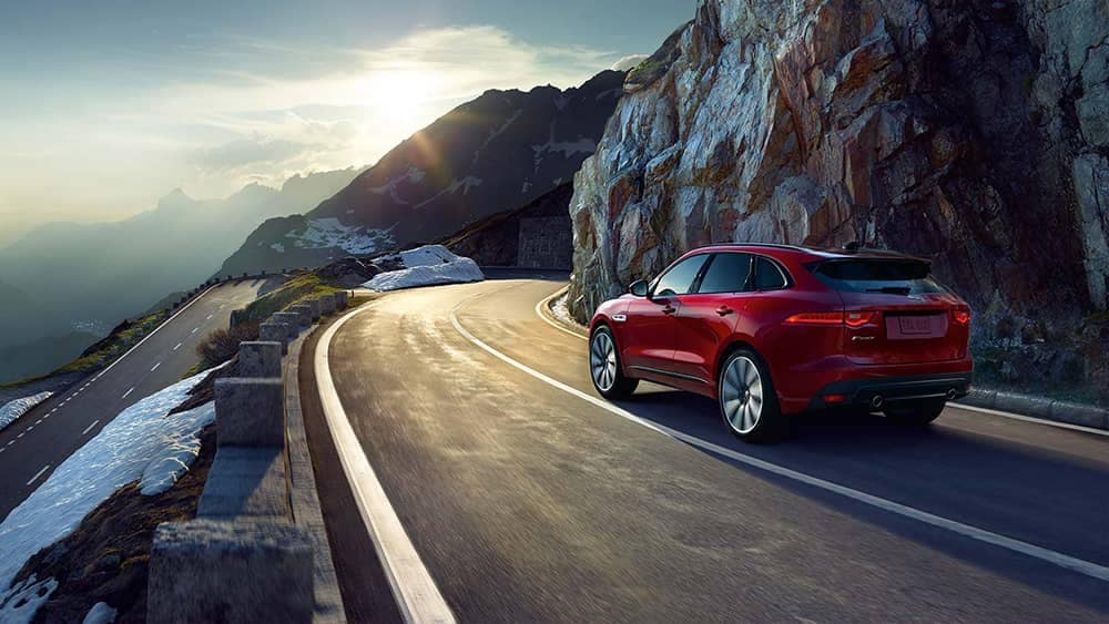 2020 Jaguar F-Pace Rear