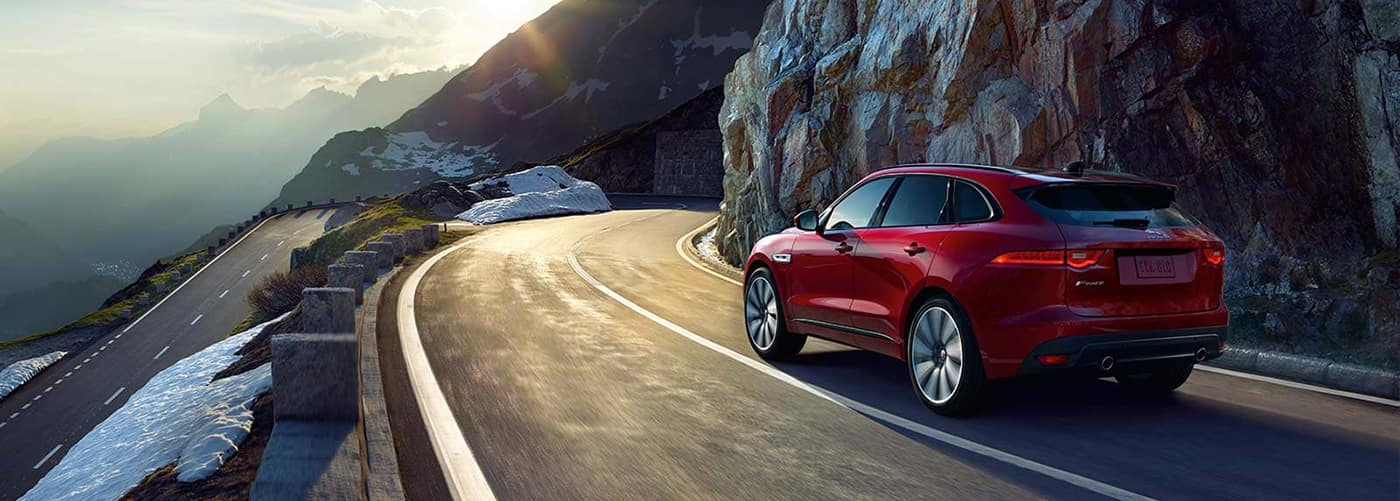 2020 F-PACE on road