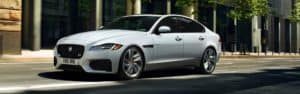 2020 Jaguar XF White