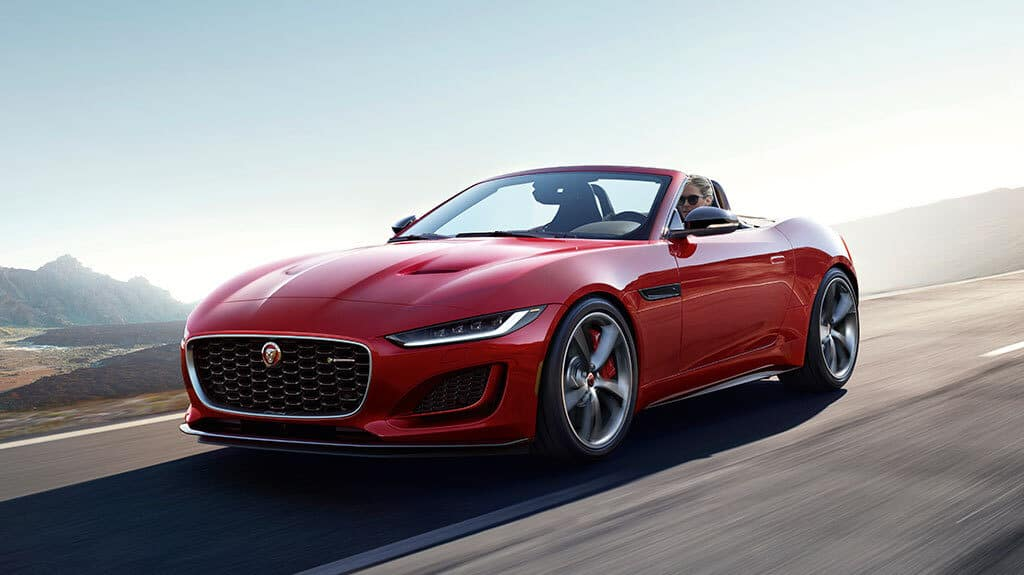 LEASE SPECIAL 2021 JAGUAR F-TYPE P380 CONVERTIBLE R-DYNAMIC AWD  – only 1 car available