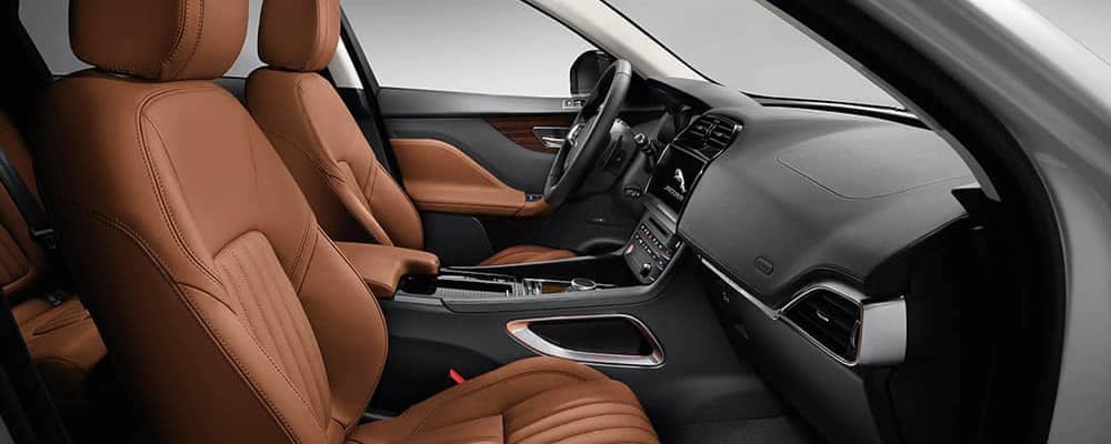 2021 Jaguar-F-Pace Interior
