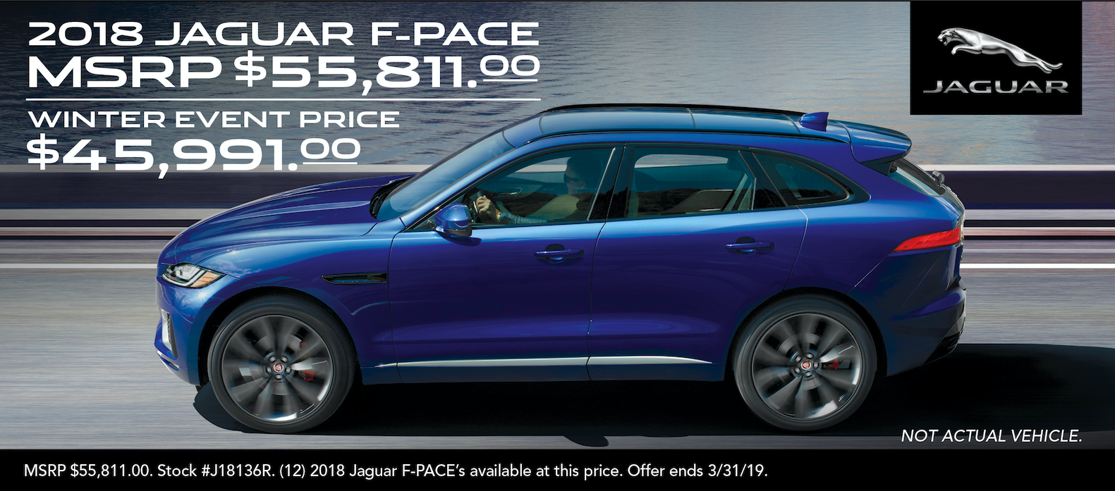 F-Pace Winter Event Sale