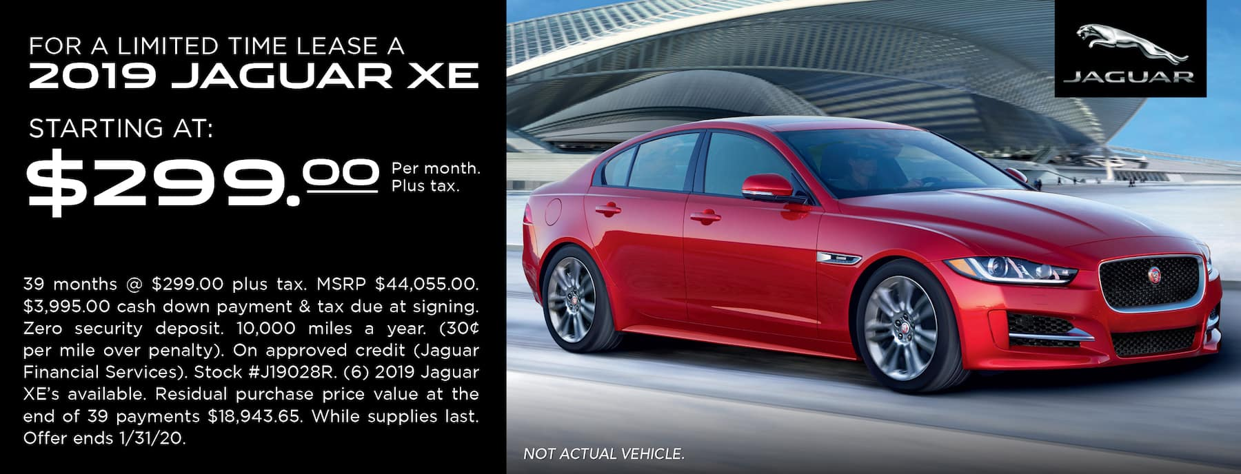 XE Lease Special