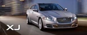 Jaguar XJ Silver Model