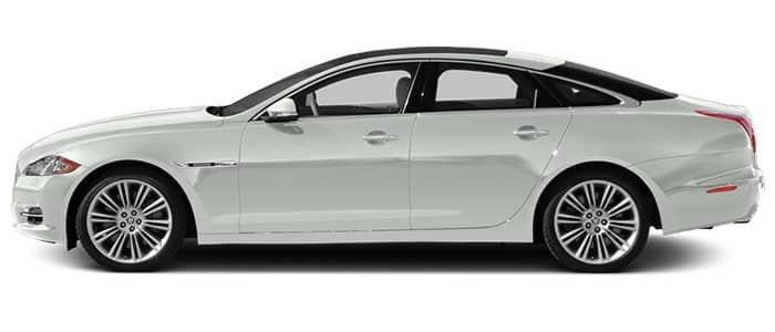 Jaguar XJ White Model