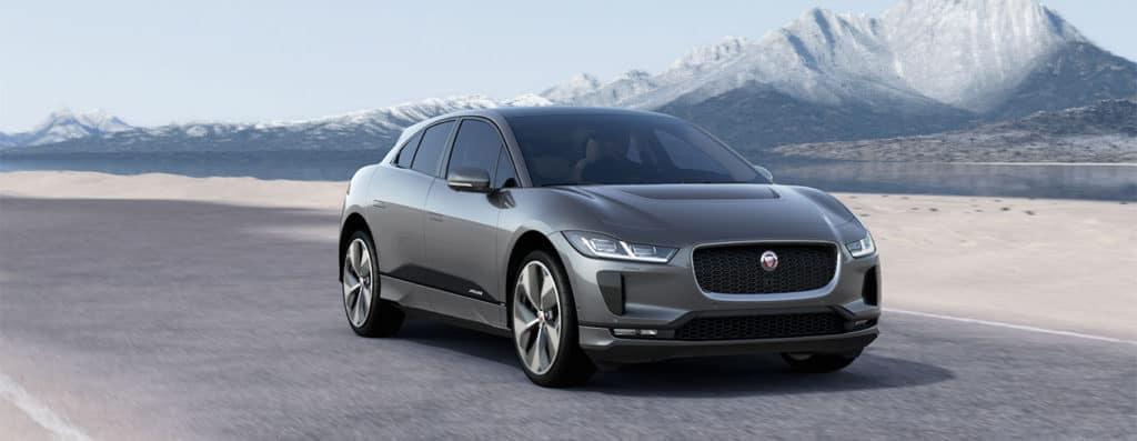 Jaguar I-PACE on Road