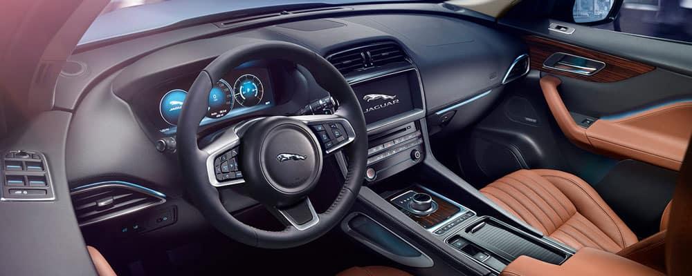 2019 Jaguar F-Pace Interior Driver's View