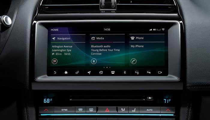 2019 Jaguar F-Pace Screen