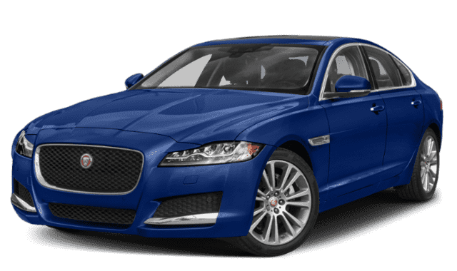 Blue 2020 Jaguar XF