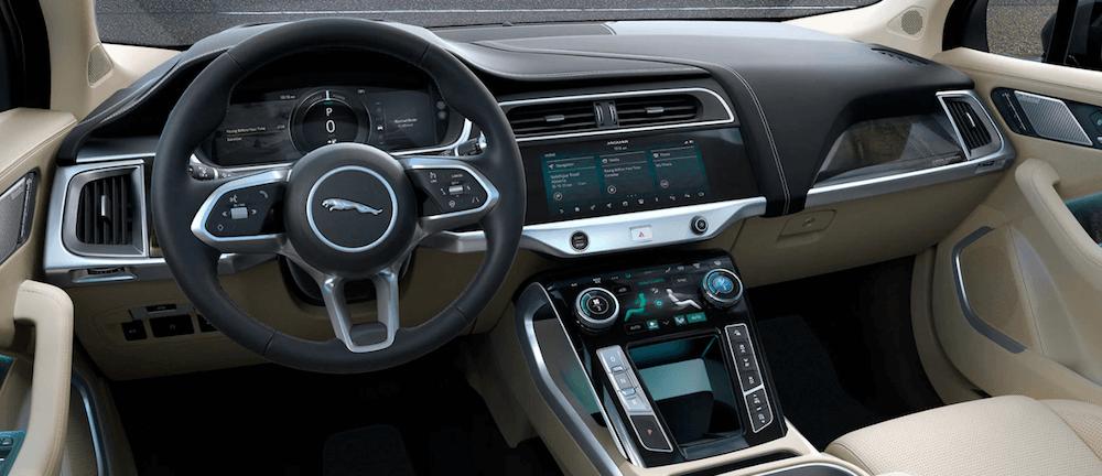 jaguar i pace interior dashboard