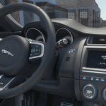 2020 Jaguar E-PACE interior seating and dashboard