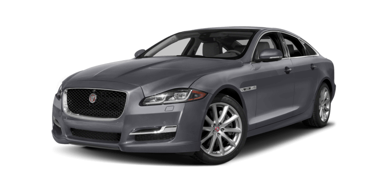 2017 Jaguar XJ dark grey exterior