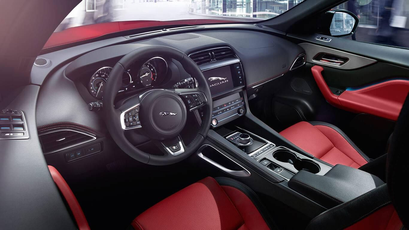 2018 Jaguar F-PACE Interior