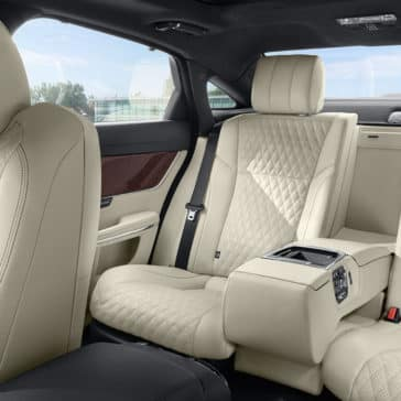 2018 Jaguar XJ rear seating