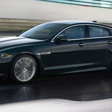2018 Jaguar XJ dark exterior
