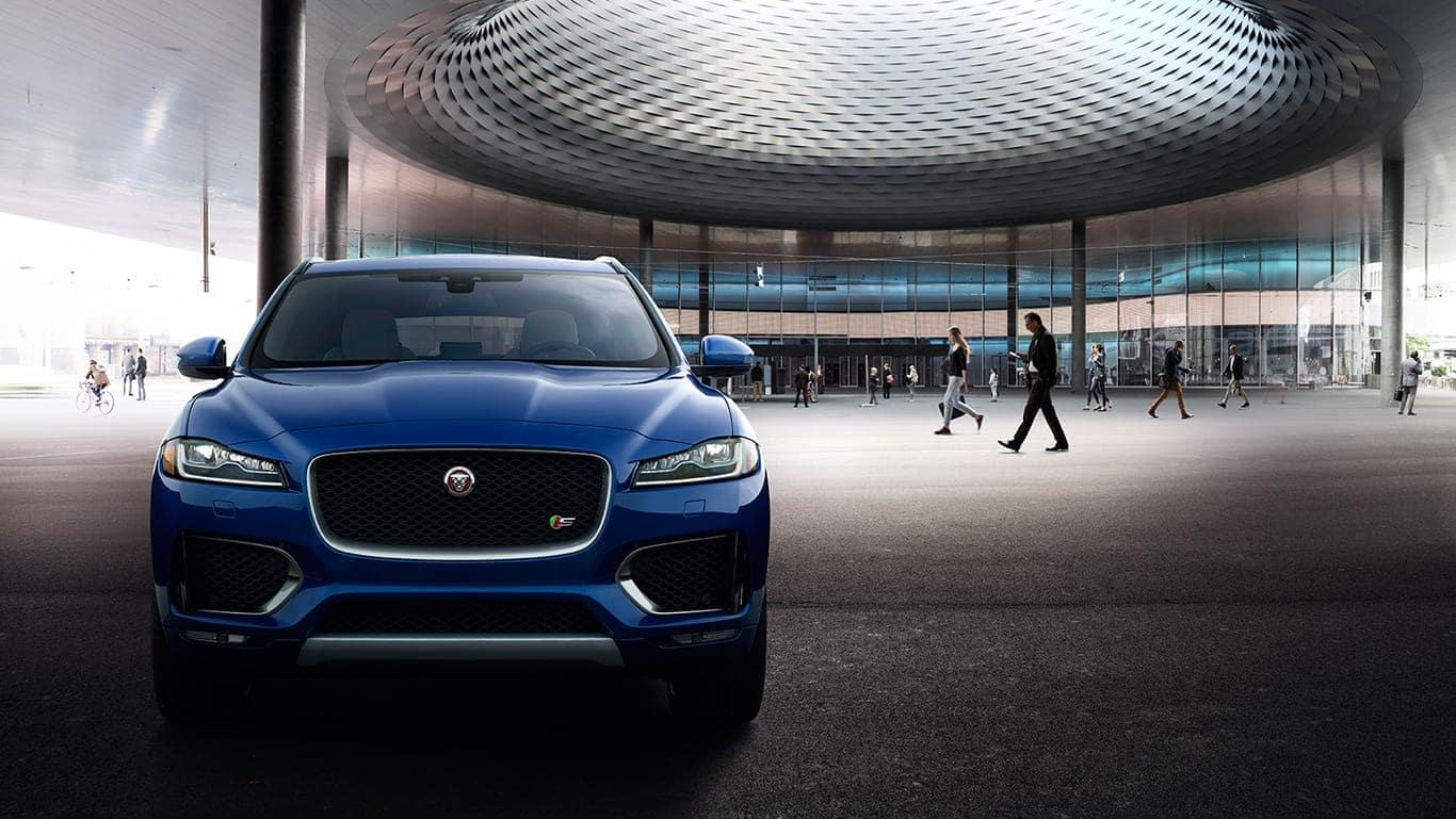 2018 Jaguar F-PACE Comp