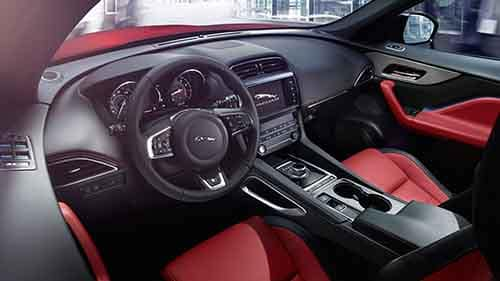 2018 Jaguar F-PACE Interior Technology Features