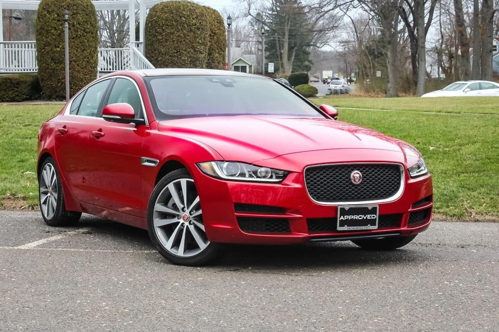 LEASE THIS CERTIFIED PRE-OWNED 2017 JAGUAR XE 3.5 PRESTIGE AWD FOR $297 PER MONTH WITH $0 DOWN AND $0 SECURITY DEPOSIT. ORIGINAL FACTORY MSRP $53,993