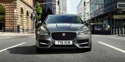 2018 Jaguar XF Front End View
