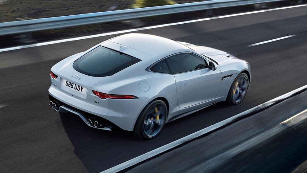 2019 Jaguar F-TYPE Yulong White Driving