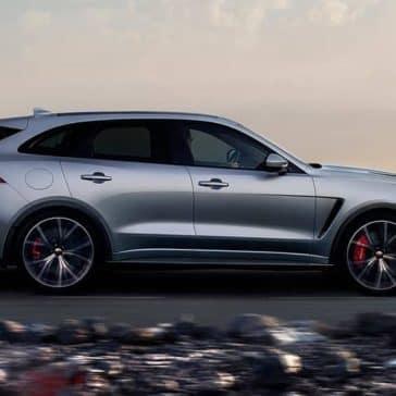 2019 Jaguar F-PACE Side Profile