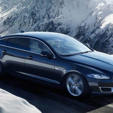 2019 Jaguar XJ Driving