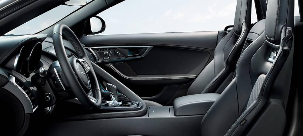 2019 Jaguar F-TYPE Interior Seating and Features