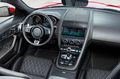 2019 Jaguar F-TYPE Interior and Dashboard features