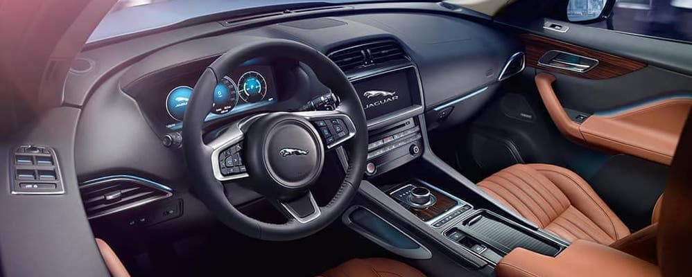 2019 jaguar f-pace interior dash