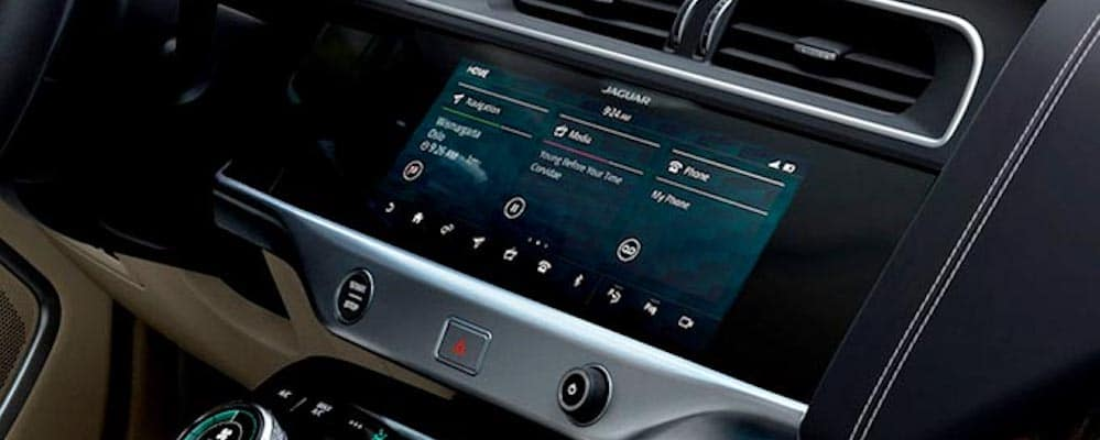 2019 jaguar i-pace interior dashboard