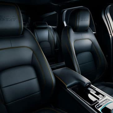 2019 Jaguar XF Interior Seating