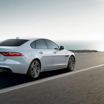 2019 Jaguar XF Driving