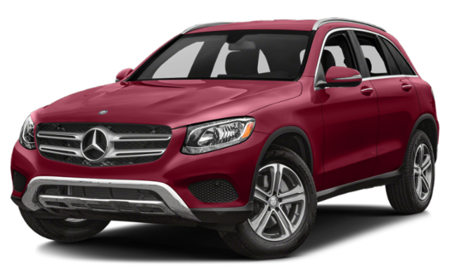 2019 mercedes-benz glc red