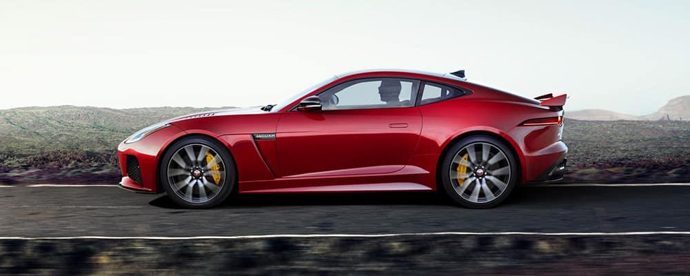 2020 Jaguar F-TYPE profile view