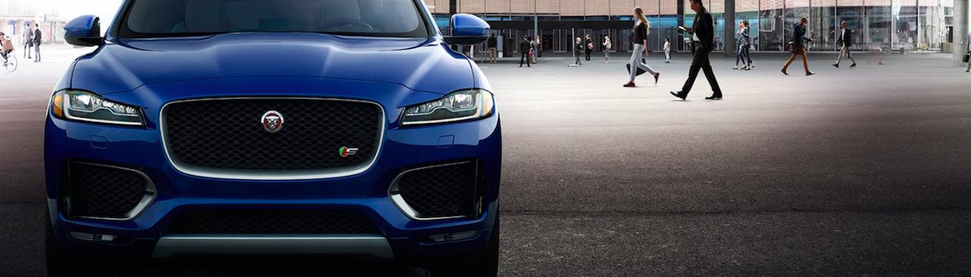 2019 jaguar f-pace blue front
