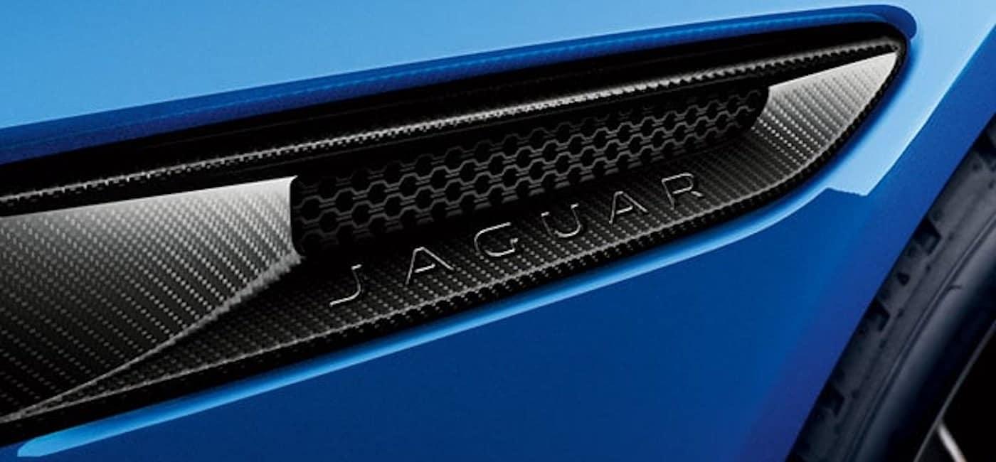 carbon fiber side vents jaguar accessories
