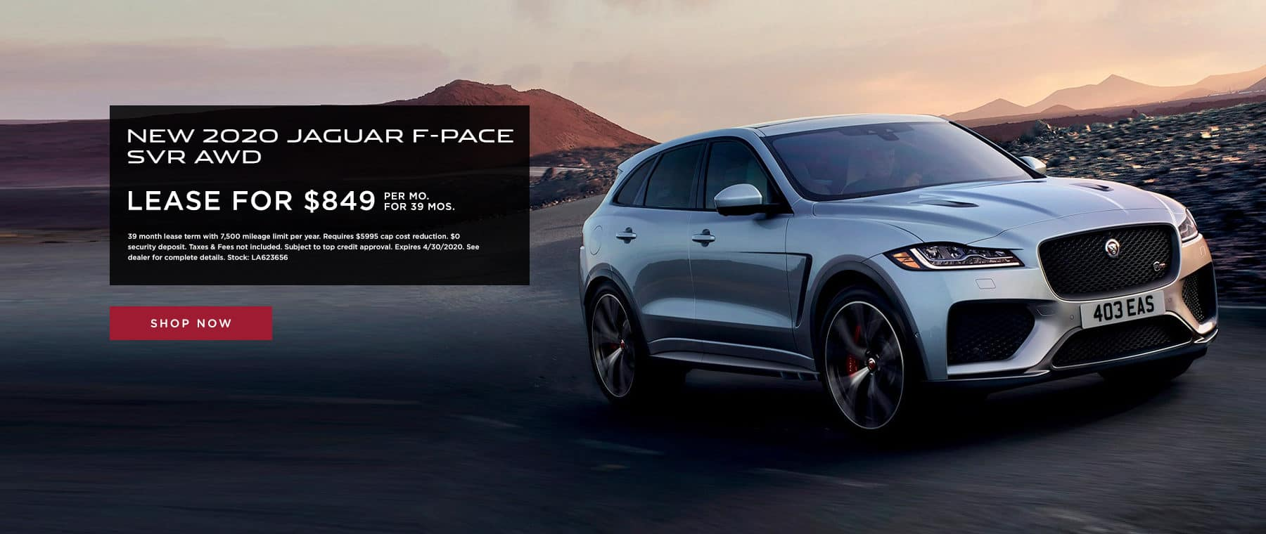 F-Pace SVR Lease