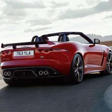 2020 Jaguar F-Type rear