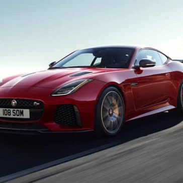2020 Jaguar F-Type Driving