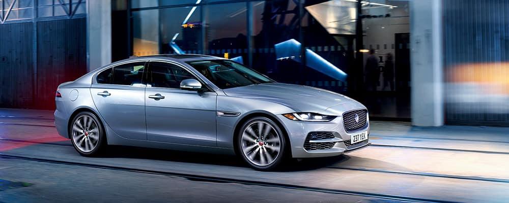 2020 Jaguar XE silver
