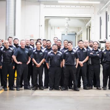 Our Team <br> of Technicians