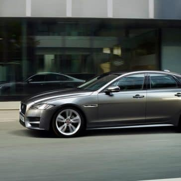 2018 Jaguar XF profile view