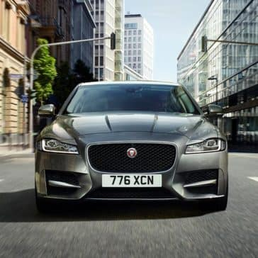 2018 Jaguar XF front view