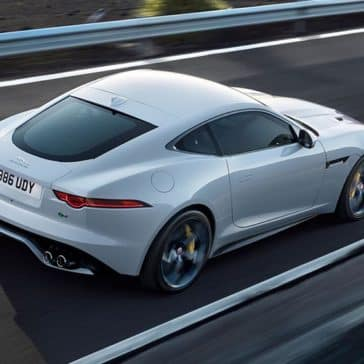 2019 Jaguar F-TYPE on the highway