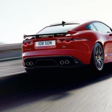 2019 Jaguar F-TYPE in caldera red