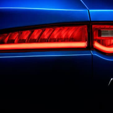 2018 Jaguar F-PACE tail light detail