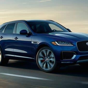 2019 Jaguar F-PACE highway drive