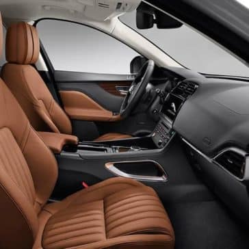 2019 Jaguar F-PACE front seat